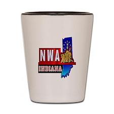 Funny Indiana Shot Glass