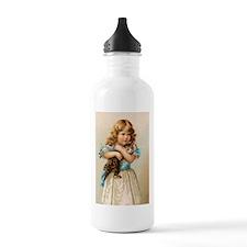 """Victorian Girl"" Water Bottle"
