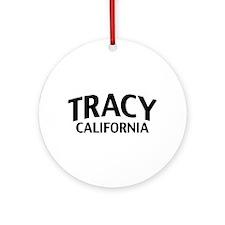 Tracy California Ornament (Round)