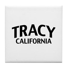 Tracy California Tile Coaster