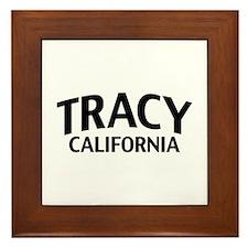 Tracy California Framed Tile