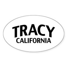 Tracy California Decal