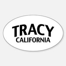 Tracy California Decal