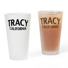 Tracy California Drinking Glass