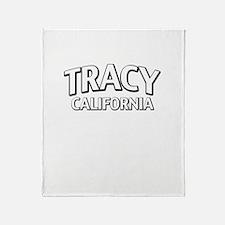 Tracy California Throw Blanket