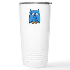 Aqua Owl Travel Mug