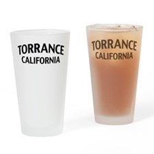 Torrance California Drinking Glass