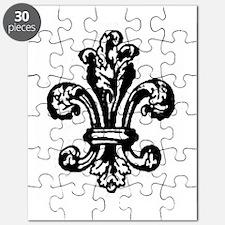 FLEUR DE LIS Puzzle