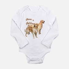 Golden day Long Sleeve Infant Bodysuit