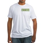 Chemistry Boobs Fitted T-Shirt