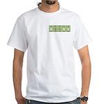 Chemistry Boobs White T-Shirt