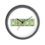 Chemistry Boobs Wall Clock