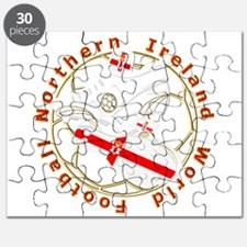 Northern Ireland Football Crest Puzzle