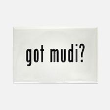 GOT MUDI Rectangle Magnet (10 pack)