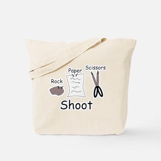 Rock Paper Scissors! Tote Bag