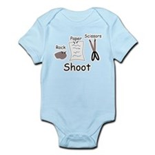 Rock Paper Scissors! Infant Bodysuit