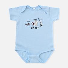 Rock Paper Scissors! Paper Wi Infant Bodysuit