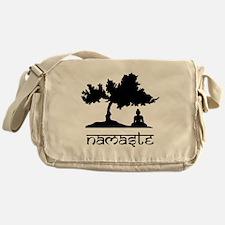 Buddha under Bodhi Tree Messenger Bag