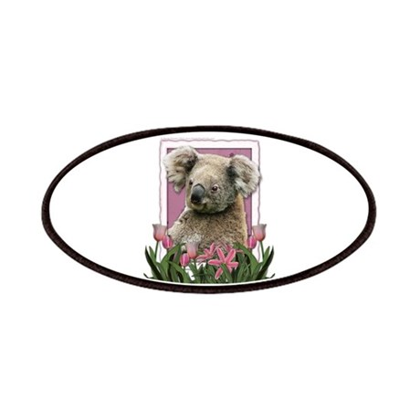 Mothers Day Pink Tulips Koala Patches