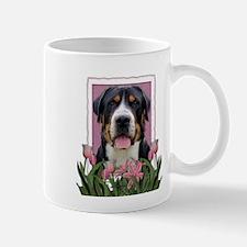 Mothers Day Pink Tulips Swissie Mug
