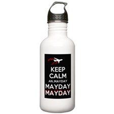 Keep Calm...Mayday Water Bottle