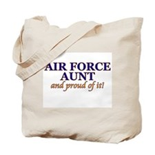 AF Aunt & proud of it! Tote Bag