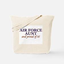 AF Aunt & proud of it! Tote Bag