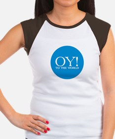 Oy! to the World Products Women's Cap Sleeve T-Shi