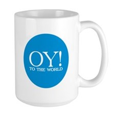 Oy! to the World Products Mug