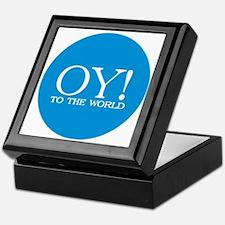 Oy! to the World Products Keepsake Box (black)