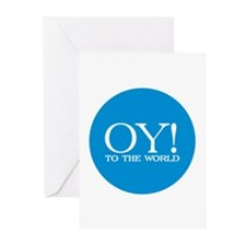 Oy! to the World Products Greeting Cards (Pk of 20