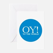 Oy! to the World Products Greeting Cards (Pk of 10