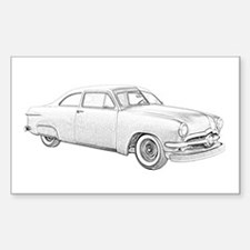 1950 Ford Coupe Decal