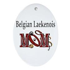 Belgian Laekenois Mom Oval Ornament