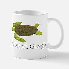 Jekyll Island Turtle Mug