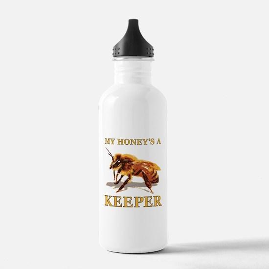 My Honey's a Keeper Water Bottle