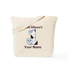 Look Whoo's 1 Boys Tote Bag
