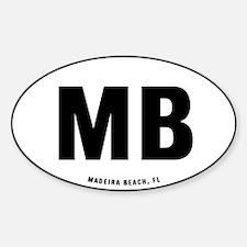 MB Sticker (Oval)