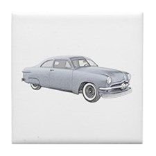 1950 Ford Coupe Tile Coaster