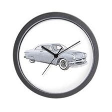1950 Ford Coupe Wall Clock