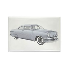 1950 Ford Coupe Rectangle Magnet