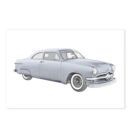 1950 Ford Coupe Postcards (Package of 8)