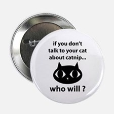 "Catnip 2.25"" Button (10 pack)"