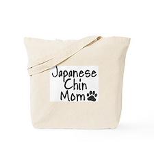 Japanese Chin MOM Tote Bag