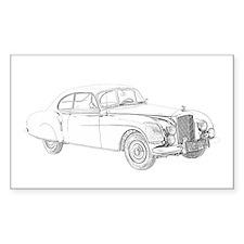 1954 Bentley Continental Decal