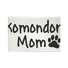 Komondor MOM Rectangle Magnet