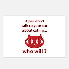 Catnip Postcards (Package of 8)