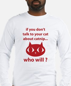 Catnip Long Sleeve T-Shirt