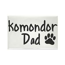 Komondor DAD Rectangle Magnet