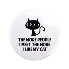"""People I Meet 3.5"""" Button (100 pack)"""